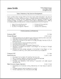 Sample Resume For Sales Manager Commercial Sales Manager Sample ...