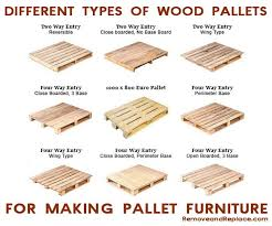 wood pallets furniture. types of wood pallets to make furniture o