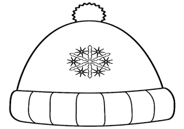 Small Picture Winter Hat Coloring Page Image Clipart Images grig3org