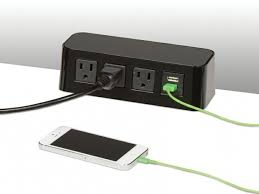 pcs67 series power bar maximize power and usb charging pertaining to modern residence desk power strip decor