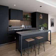 modern kitchen ideas. Love A Black Kitchen Caesarstone Gallery Modern Ideas