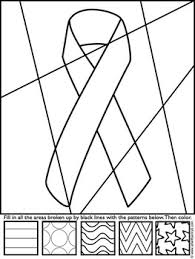 Small Picture Breast Cancer Awareness Ribbon Coloring Sheet by Art with Jenny K