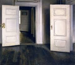 open door painting. Open Doors   Vilhelm Hammershoi Oil Painting Open Door G