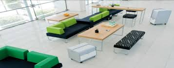Furniture office workspace cool macbook air Desktop In Todays Office Environments Different Tasks And Responsibilities Require Different Workspaces For Some Employees They May Need Calm Place To Focus Why Your Office Needs Touchdown Spaces Modern Office Furniture
