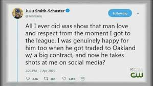 Image result for antonio brown juju smith schuster twitter