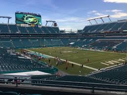 Miami Dolphins Hard Rock Stadium Seating Chart Hard Rock Stadium Section 210 Miami Dolphins