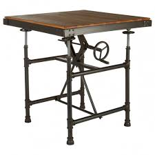 Industrial Style Furniture Oscars Boutique Table Under Wall Mounted Tv