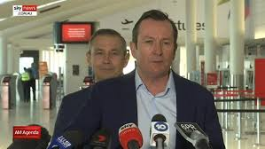 Victoria 11:30am jan 28, 2021 nsw premier blindsided by border announcement West Australian Border Restrictions Set To Ease For Nsw And Victorian Residents Sky News Australia