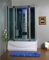 Jacuzzi Shower Combination Steam Shower Room With Deep Whirlpool Tub W Air Bubbletermostatic