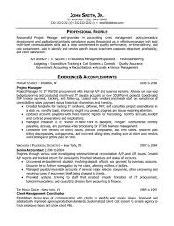 Sample Resume Of A Project Manager Best Of Project Manager Cv Template