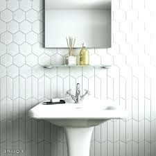 hexagon tile shower walls hexagon tile bathroom best hexagon tile bathroom ideas on shower white hexagon