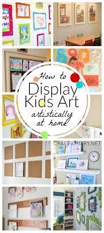 Kids Wall Art Ideas Best 25 Hanging Kids Artwork Ideas Only On Pinterest Display