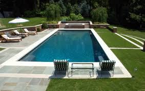 in ground pools rectangle. Rectangular Gunite Pool W/ Spa In Ground Pools Rectangle A