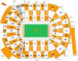 Unc Charlotte Football Seating Chart Tennessee Volunteers Vs Charlotte 49ers Neyland Stadium 2