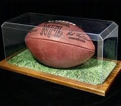 Football Display Stand Plastic Sports Display Case USA Display Case Company 94