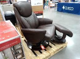 la z boy leather recliner set 2 with ottoman costco