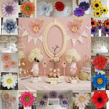 Tissue Paper Flower Centerpieces Pom Pom Tissue Paper Flower 19cm Birthday Wedding Venue