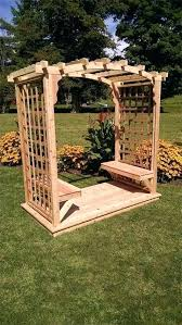 garden arbor lowes. Garden Arbor Trellises Cedar Outdoor With Benches And Deck Lowes Arbors .