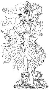 Small Picture Monster High Halloween Coloring Pages Coloring Coloring Pages