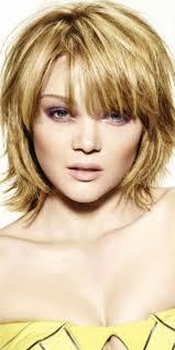 Photo Coiffure Femme Cheveux Mi Long Avec Frange Coupe De