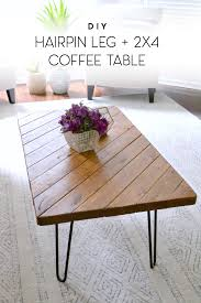 Check out these creative diy tabletop ideas that are sure to give any table a new lease on life and style. My 15 Minute Diy Hairpin Leg Coffee Table Ugly Duckling House