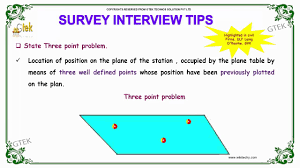 define state three point problem survey interview questions and define state three point problem survey interview questions and answers