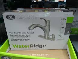 costco kitchen faucets water ridge pull out kitchen faucet costco kitchen faucet replacement parts