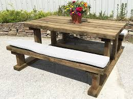 Picnic Bench Cushions Sustainable Furniture