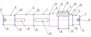 Курсовая работа Проект автоматической линии для обработки детали  Рассмотрим базовый ТП изготовления данной детали для неавтоматизированного производства и выберем операции которые можно включить в автоматическую линию