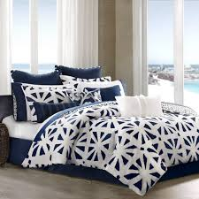home design innovation ideas navy blue and white comforter sets set ecrins lodge from ont