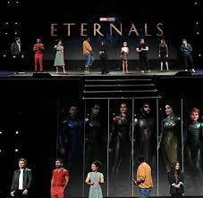 The eternals cast at Disney D-23 ...