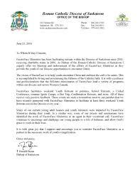 facetoface letter of endorsement facetoface ministries facetoface 2016 letter of endorsement