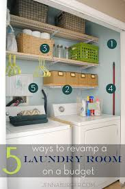 Laundry Room Design On A Budget 5 Ways Tips For Revamping A Laundry Room On A Budget See