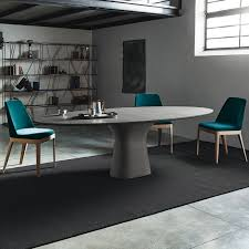 bontempi podium eliptical dining table large