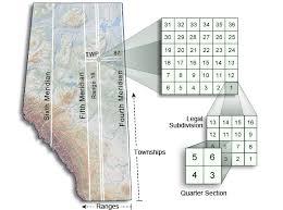Alberta Grid Chart Alberta Township Survey System Alberta Ca