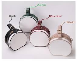 <b>DikizFly</b> Panelled Small Circular Totes <b>Handbag Women</b> Messenger ...