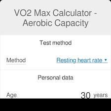 Vo2 Max Calculator Aerobic Capacity Calculator Omni