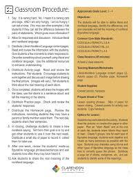 literal language literal and nonliteral language lesson plan clarendon learning