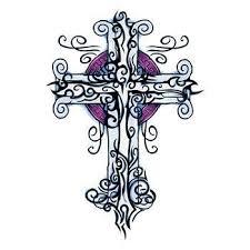 Tetování Kříž