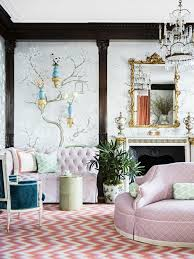 Elegant Chinoiserie Chic Convention Other Metro Contemporary Chinoiserie Living Room