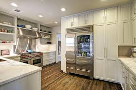 gorgeous glass front refrigerator residential