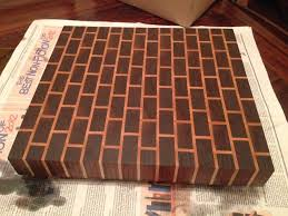 Cutting Board Patterns Adorable End Grain Cutting Board Patterns End Grain Brick Pattern Cutting