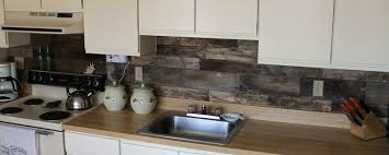 Pallet Wood Backsplash Backsplash Follow Up Part 2 Pallet Wood Circa Dee