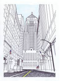 perspective drawings of buildings. Perfect Buildings Perspective Drawings Of Buildings How To Draw In  I