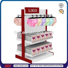 Bra Display Stand TSDW100 Custom wooden bra display cabinet decoration for 3