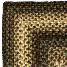 driftwood braided rug