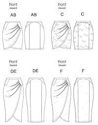 Skirt Pattern Unique Vogue Patterns 48 Misses Skirt