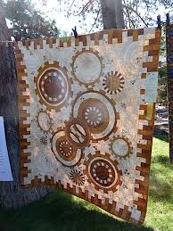 Steampunk gear quilt at the Sisters Outdoor Quilt Show   Awesome ... & Steampunk gear quilt at the Sisters Outdoor Quilt Show Adamdwight.com