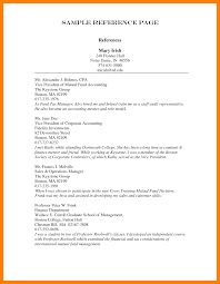 8 Professional References Template How To Make A Cv