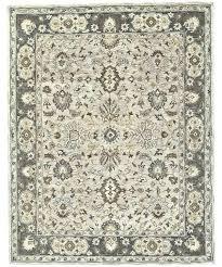 area rugs hand tufted gray rug wayfair jute round